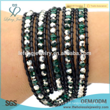 Bohemian jóias atacado moda selvagem boêmio wrap pulseira