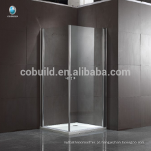 K-533 304 aço inoxidável quadrado de vidro dobradiça chuveiro casa de banho