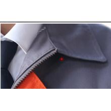 Ropa de trabajo la tela cruzada del algodón del poliester resistente a los arañazo