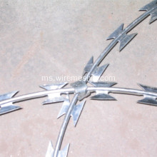 Hot Dipped Galvanized Concertina Razor Wire BTO-22