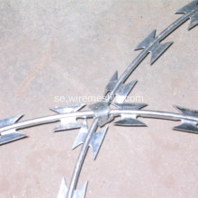 Hot Dipped Galvaniserad Concertina Razor Wire BTO-22