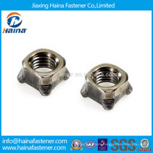 DIN928 Stainless Steel 304 316 Square Weld Nuts In Stock