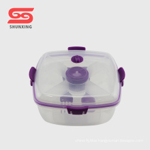 Multipurpose salad container plastic pp lunch box for sale