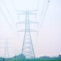 Угловая стальная башня с усилием 220 кВ