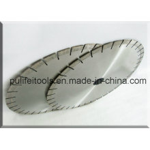 Silver Laser Welded Wet Cutting Granite Circle Saw Blade