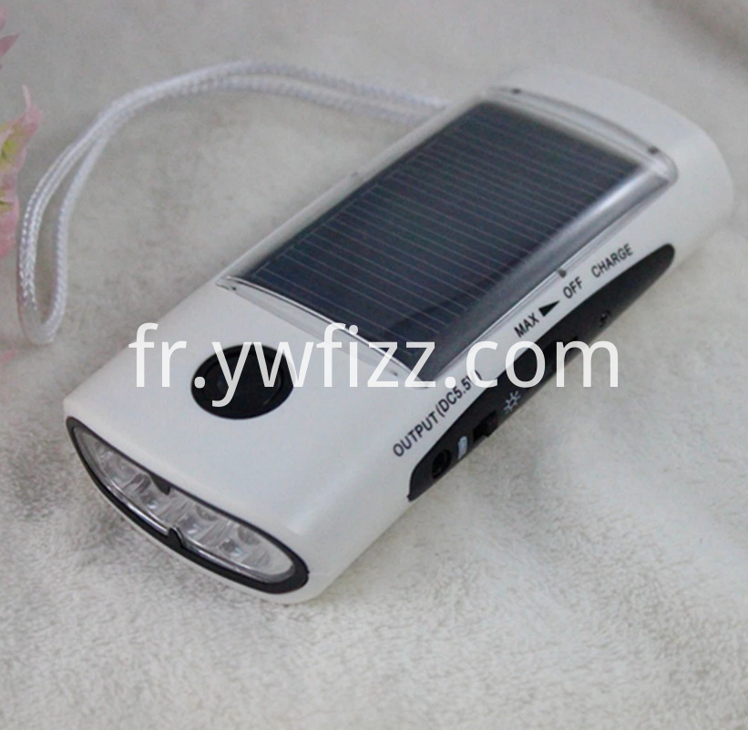 Solar energy charging small speaker flashlight
