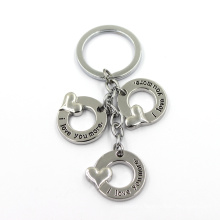 China Supplier Decoration Metal Key Rings Key Holder