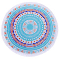 Custom Woven Digital Printing Circle Beach Towels