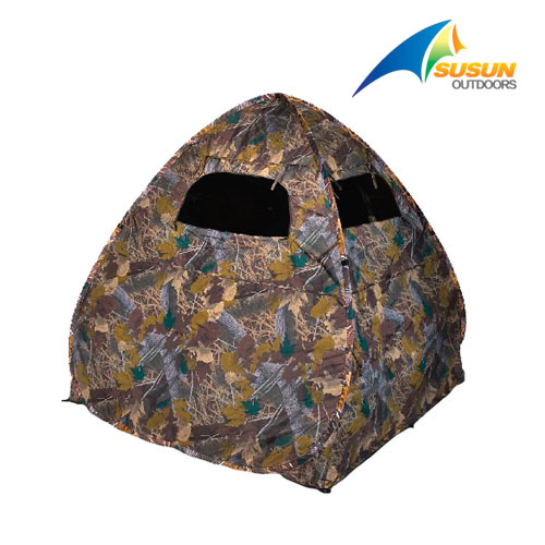 Camouflage Hunting Blind