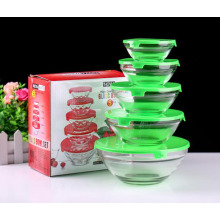 Factory Free sample for Food Containers Kitchen glass sealed bowl export to Israel Exporter