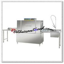 Le lave-vaisselle commercial de convoyeur K715 a complètement inclus le lave-vaisselle industriel ou d'hôtel à hautes températures
