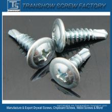 8 * 1 modificado cabeza Truss tornillos autoperforantes