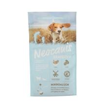 Bolso plástico del alimento para animales de los materiales personalizados del estilo normal