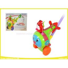 Push Pull Spielzeug Lustige Flugzeug Kunststoff Spielzeug