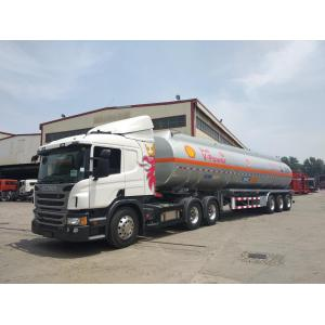 46CBM ALU. ALLOY TANK SEMI-TRAILER