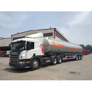Shell Fuel Tank Semi-Trailer