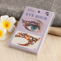 Non-Toxic Paper Promo Party Tattoo Sticker Custom Floral Non-Toxic Temporary Face Temporary Eye Tattoo Sticker