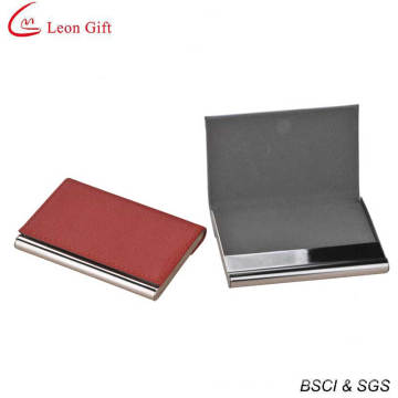 Customized Shape Leather Business Card Holder