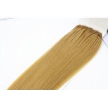 18inch 18# Color Brazilian Hair Human Hair Virgin Hair Remy Hair Extension Popular Easy Pull Knot Thread Hair Extension with Clean Fish Silk
