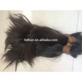 soft virgin raw children human hair,younger thin unprocessed hair
