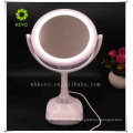 Colorful multifunction side mirror speakers bluetooth makeup mirror speaker with mirror light