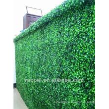 2014 yiwu vente chaude artificielle herbe mur de noël décoration
