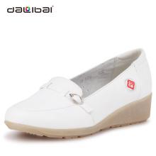 Chinese white alta qualidade enfermagem ortopédicas médicas sapatos de enfermagem de salto alto