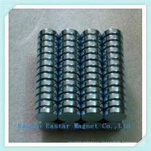 N42 Zinc Plating Neodymium Disc Magnet