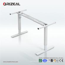 Bureau debout motorisé d'Orizeal, meilleur s'asseoir pour tenir le bureau élevé (OZ-ODKS004)