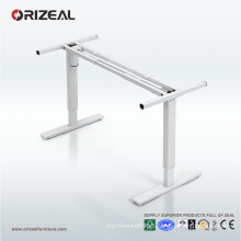 Orizeal motorized standing desk, best sit to stand elevated desk (OZ-ODKS004)