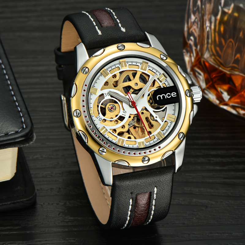 fashion automatic bulk straps big men watches