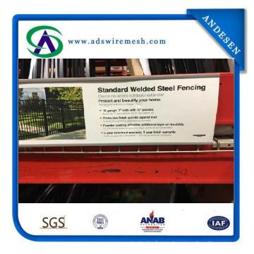 Welded Steel Fence / Fusion Ornamental Welded Beauty Steel Fence