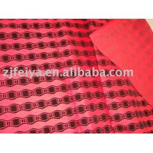 afrique en relief tissu de vêtement de flocage
