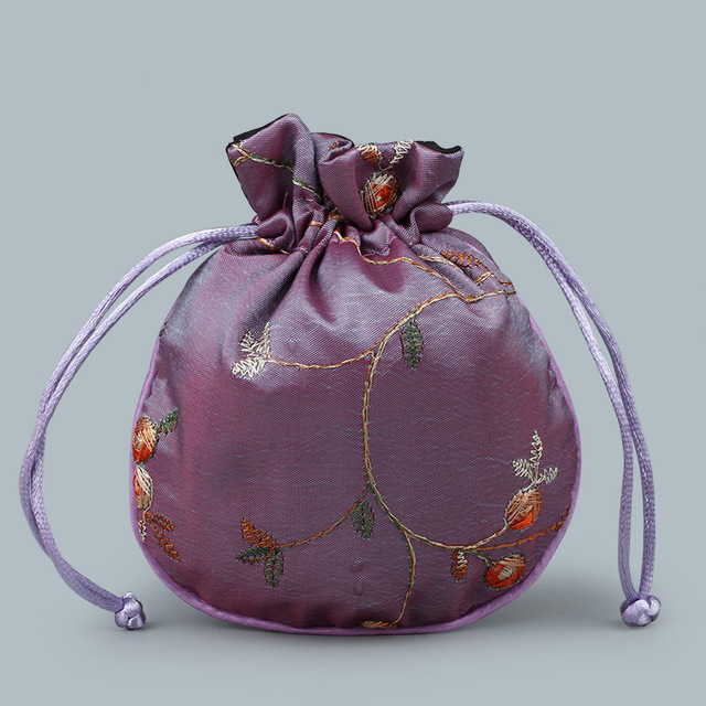 Satin Bag purple
