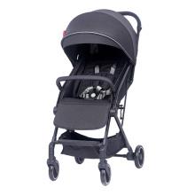 Carrinho de bebê leve dobrável carrinho de viagem compacto carrinho preto