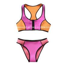 Bikini atractivo del traje de baño del neopreno de las mujeres de la manera (SNBK01)