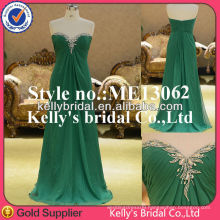 ME13062 beading hot green night dress