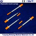 Einweg-1-cc-Insulinspritzen 0,5-cc-Insulinspritzen 0,3-cc-Insulinspritzen (ENK-YDS-043)