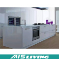 High Gloss Kitchen Cabinets with Kitchen Island (AIS-K251)
