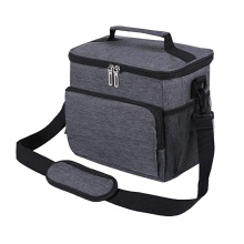 Adult Luxury Lunch bag Grey Solid Color Adult Sling lunch bag cooler loncheras bolsas loncheras