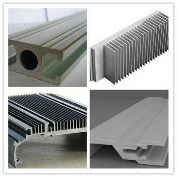 Aluminum Profile Mill Finish Heat Sink