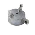 ISO9001: 2008 pasó pieza de fundición de aluminio del servicio de mecanizado CNC