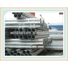 Best quality hot dip galvanized pipe Q195,Q235,Q345B 21MM-508MM