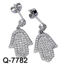 Neue Art 925 silberne Ohrring-Art- und Weiseschmucksachen (Q-7782. JPG)