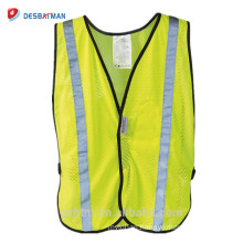 Hi-vis 3M Adjustable Reflective Vest,Day and Night High Visibility Reflex Safety Vest Yellow for Running/Cycling/Walking