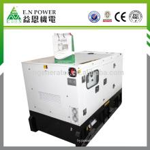 Grupo electrógeno diesel portátil súper silencioso de 6kw-12kw con motor Kubota importado de Japón