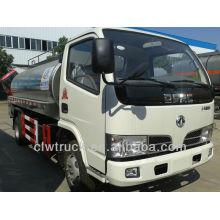 Dongfeng 5m3 mini caminhão tanque de leite