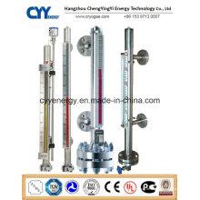 Cyybm70 Magnetische Füllstandsmessgerät für kryogene Tanks