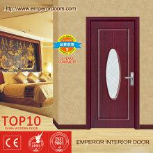 MDF y madera de la puerta puerta Interior