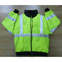 Traffic Safety Parka Jacket with En/ANSI